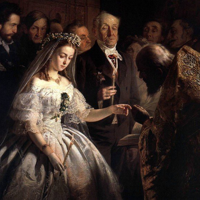 Как женились раньше